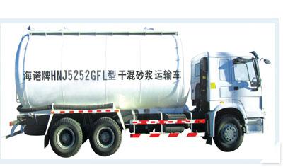 海诺HNJ5252GFL干混砂浆运输车高清图 - 外观