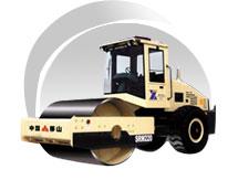移山SRM系列单钢轮压路机高清图 - 外观