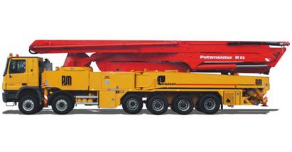 普茨迈斯特M63-5泵车高清图 - 外观