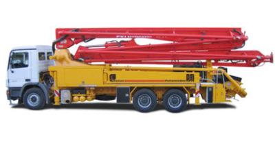普茨迈斯特M 38-4泵车高清图 - 外观