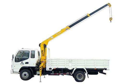 石煤机QYS-2.0ⅡB2吨直臂式随车起重机