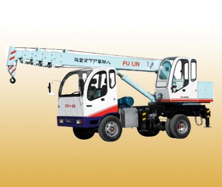 山东福临QLY3060A轮式起重机