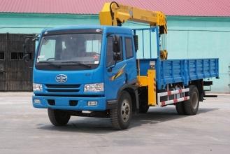牡丹江专用汽车MQ5122JSQ随车起重机高清图 - 外观