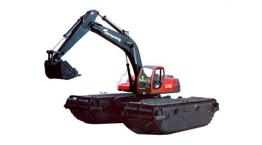 詹阳动力SLJY300水陆两用挖掘机