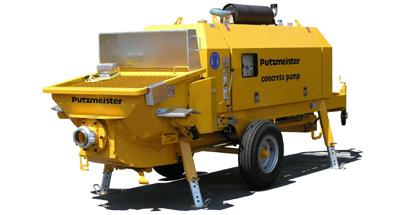 普茨迈斯特BSA 1407 D拖泵高清图 - 外观
