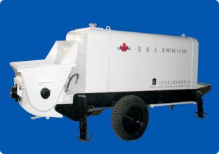 北京加隆CLT-60托式混凝土输送泵高清图 - 外观