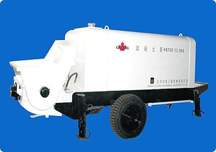 北京加隆CLT-60托式混凝土輸送泵
