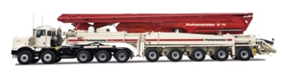 普茨迈斯特M70-5泵车高清图 - 外观