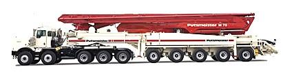 普茨邁斯特M70-5泵車