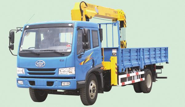 牡丹江专用汽车MQ5161JSQ随车起重机