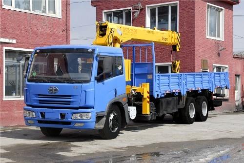 牡丹江专用汽车TQC5252JSQ随车起重机
