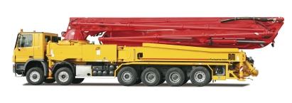 普茨迈斯特M58-5泵车高清图 - 外观