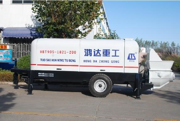 鸿达HBT90S1821-200拖泵高清图 - 外观