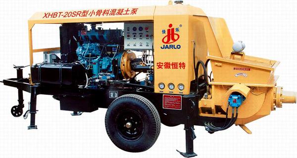 佳乐XHBT-20SR型小骨料混凝土泵