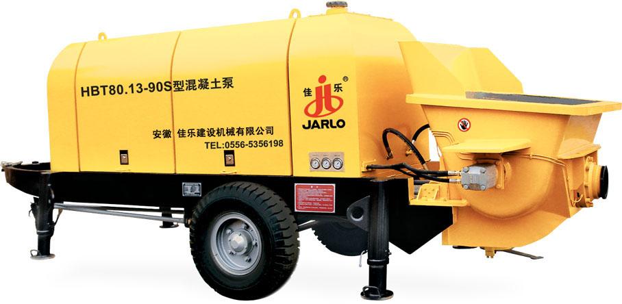 佳乐HBT60.13-90S混凝土泵高清图 - 外观
