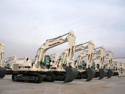 内蒙古北方重工液压挖掘机高清图 - 外观