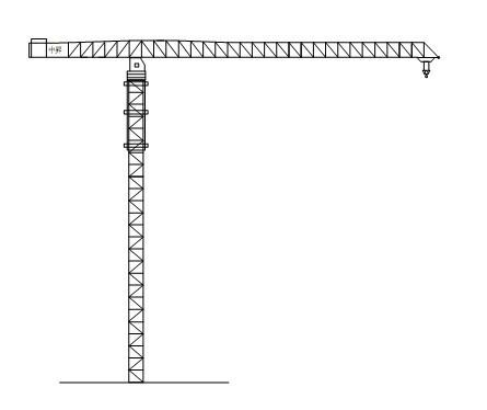 中昇QTZ250(ZSC250)平臂塔式起重机