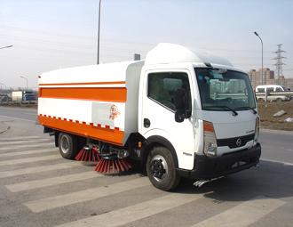 亚洁BQJ5050TSLZ扫路车高清图 - 外观