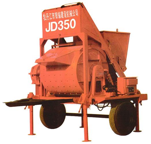 银锚WBZ200-600混凝土搅拌机高清图 - 外观