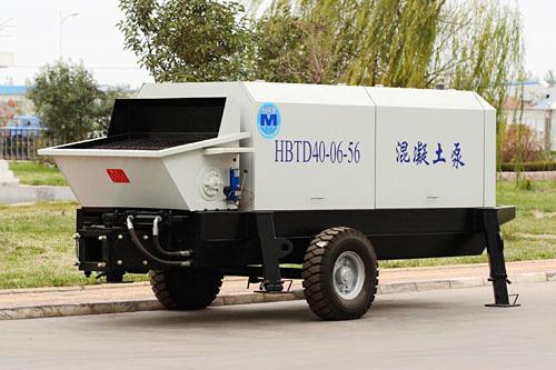 圆友重工HBTS40混凝土柴油机输送泵