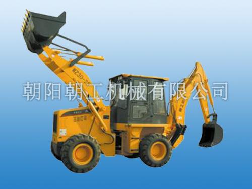 朝工WZ30-25挖掘装载机