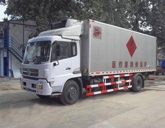 亚洁BQJ5160XYLD型车厢可卸式垃圾车高清图 - 外观