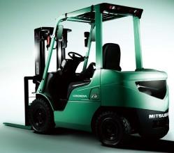 三菱Grendia FD25N内燃平衡重式叉车高清图 - 外观