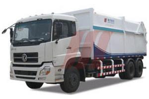 精功HJG5250ZLJ车厢可卸式垃圾车高清图 - 外观