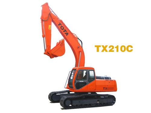厦装TX210挖掘机高清图 - 外观