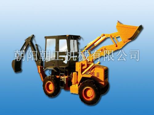 朝工WZ25-20C挖掘装载机