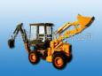 朝工WZ25-20C挖掘装载机高清图 - 外观