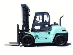 三菱Grendia Praid FD90内燃平衡重式叉车高清图 - 外观