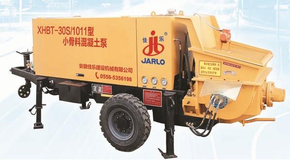佳乐XHBT-20SD/0710小骨料混凝土泵高清图 - 外观