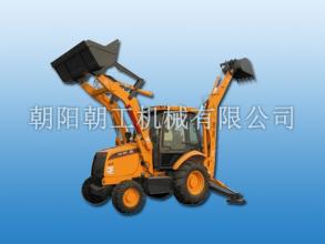 朝工CG875挖掘装载机高清图 - 外观
