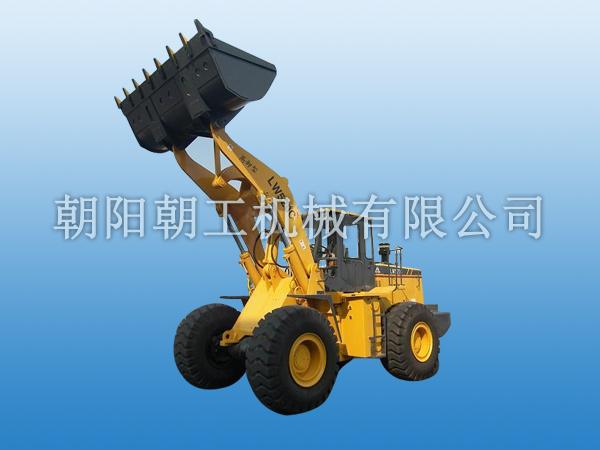 朝工LW520C高卸型轮式装载机高清图 - 外观