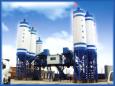 佳一HZS60型间歇式混凝土搅拌机高清图 - 外观