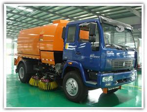 扫地王TSW5160TSL型后滚式扫路车