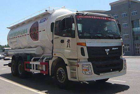 亞特重工TZ5253GFLBS3歐曼散灰26方粉粒物料運輸車