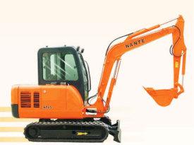 南特NT45全液压履带式挖掘机