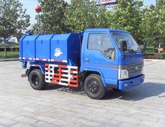 亚洁BQJ5050ZXXQ车厢可卸式垃圾车高清图 - 外观