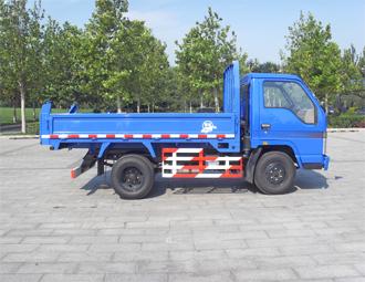 亚洁BQJ5050ZLJQ车厢可卸式垃圾车高清图 - 外观