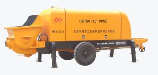 华强京工HBT60.13.90SB拖式电动混凝土输送泵