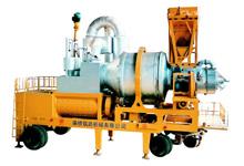 南侨QLB-30\40强制移动式沥青混凝土搅拌设备拌楼高清图 - 外观