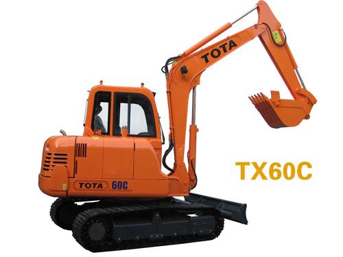 厦装TX60挖掘机高清图 - 外观