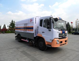 亚洁BQJ5160TXSD扫路车高清图 - 外观