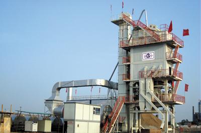 吉公LB4000沥青搅拌设备高清图 - 外观