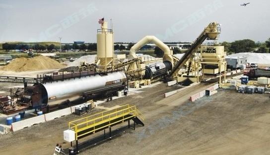 中交西筑XRMC·ASTEC连续式沥青混合料搅拌设备