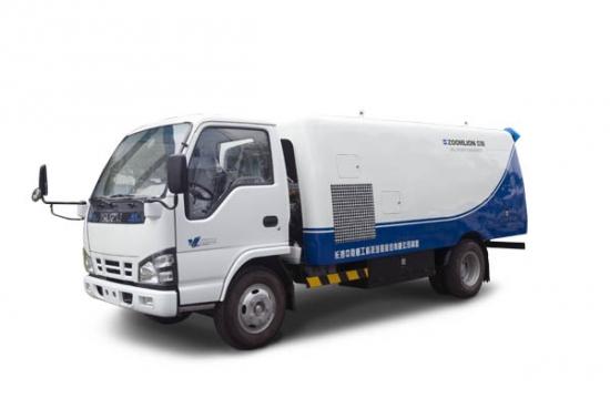 中联重科ZLJ5061GQXE3疏通吸污养护车高清图 - 外观