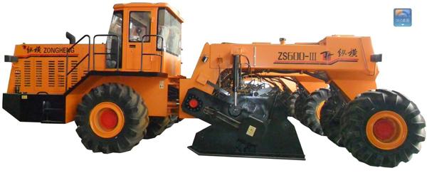 中方机械ZS600-Ⅲ型路面冷再生机高清图 - 外观