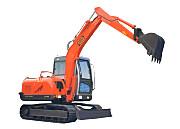 劲工JG608履带式农用挖掘机
